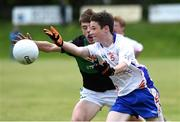 25 June 2016; Rory Landers of New York in action against Robert Dillon of Nemo Rangers during the John West Féile Peile na nÓg at Dr Crokes in Killarney. Photo by Michelle Cooper Galvin/Sportsfile