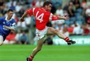 8 July 2001; Martin Penrose, Tyrone minor. Football. Picture credit; David Maher / SPORTSFILE