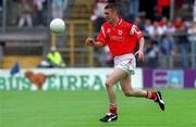 8 July 2001; Gerard Toner, Tyrone minor. Football. Picture credit; David Maher / SPORTSFILE