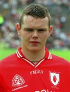 8 July 2001; Peter Donnelly, Tyrone minor. Football. Picture credit; David Maher / SPORTSFILE