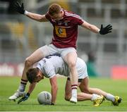 26 June 2016; Cian O'Donoghue of Kildare in action against Ray Connellan of Westmeath during the Leinster GAA Football Senior Championship Semi-Final match between Kildare and Westmeath at Croke Park in Dublin. Photo by Piaras Ó Mídheach/Sportsfile