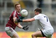 26 June 2016; Ray Connellan of Westmeath in action against Cian O'Donoghue of Kildare during the Leinster GAA Football Senior Championship Semi-Final match between Kildare and Westmeath at Croke Park in Dublin. Photo by Piaras Ó Mídheach/Sportsfile