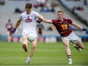 26 June 2016; Eoin O'Flaherty of Kildare in action against Ray Connellan of Westmeath during the Leinster GAA Football Senior Championship Semi-Final match between Kildare and Westmeath at Croke Park in Dublin. Photo by Oliver McVeigh/Sportsfile