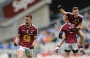 26 June 2016; Ger Egan of Westmeath celebrates after the Leinster GAA Football Senior Championship Semi-Final match between Kildare and Westmeath at Croke Park in Dublin. Photo by Piaras Ó Mídheach/Sportsfile