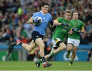 26 June 2016; Diarmuid Connolly of Dublin in action against Donal Keogan of Meath during the Leinster GAA Football Senior Championship Semi-Final match between Dublin and Meath at Croke Park in Dublin. Photo by Oliver McVeigh/Sportsfile