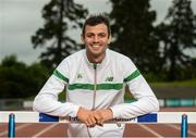27 June 2016; Ireland's Thomas Barr in attendance at the announcement of the 2016 European Track & Field Championships Team at Morton Stadium in Santry, Co Dublin. Photo by Sam Barnes/Sportsfile