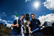 29 June 2016; Dublin's Shane Barrett and Offaly's Emmet Nolan were in Dublin today to look ahead to next Wednesday's Bord Gáis Energy GAA Hurling U-21 Leinster final. The game takes place on Wednesday, July 6th at O'Connor Park in Tullamore with a 7.30 throw-in time. The game will be broadcast live on TG4 from 7.00pm. St Stephen's Church, Mount St Crescent, Dublin. Photo by Stephen McCarthy/Sportsfile