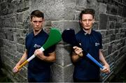 5 July 2016; Dublin's Shane Barrett and Offaly's Emmet Nolan were in Dublin today to look ahead to next Wednesday's Bord Gáis Energy GAA Hurling U-21 Leinster final. The game takes place on Wednesday, July 6th at O'Connor Park in Tullamore with a 7.30 throw-in time. The game will be broadcast live on TG4 from 7.00pm. St Stephen's Church, Mount St Crescent, Dublin. Photo by Stephen McCarthy/Sportsfile
