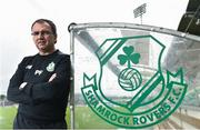 29 June 2016; Shamrock Rovers manager Pat Fenlon poses for a portrait following a press conference ahead of the Europa League Qualifier 1st round between Shamrock Rovers and Rovaniemi at Tallaght Stadium, Dublin. Photo by Cody Glenn/Sportsfile