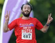 29 June 2016; Feidhlim Kelly of Athletics Ireland after winning the Grant Thornton Corporate 5km Team Challenge at The Mall in Cork City. Photo by Matt Browne/Sportsfile