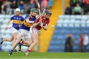 30 June 2016; Jack O'Connor of Cork in action against Gavin Dunne of Tipperary during the Electric Ireland Munster GAA Hurling Minor Championship Semi-Final game between Cork and Tipperary at Pairc Ui Rinn in Cork. Photo by Eóin Noonan/Sportsfile
