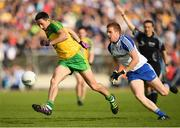 2 July 2016; Rory Kavanagh of Donegal in action against Kieran Duffy of Monaghan during the Ulster GAA Football Senior Championship Semi-Final Replay between Donegal and Monaghan at Kingspan Breffni Park in Cavan. Photo by Stephen McCarthy/Sportsfile