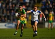 2 July 2016; Rory Kavanagh of Donegal in action against Daniel McKenna of Monaghan during the Ulster GAA Football Senior Championship Semi-Final Replay between Donegal and Monaghan at Kingspan Breffni Park in Cavan. Photo by Stephen McCarthy/Sportsfile