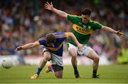 3 July 2016; Robbie Kiely of Tipperary in action against Paul Murphy of Kerry during the Munster GAA Football Senior Championship Final match between Kerry and Tipperary at Fitzgerald Stadium in Killarney, Co Kerry. Photo by Brendan Moran/Sportsfile