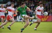 9 July 2016; Padraic Harnan of Meath in action against Gareth McKinless of Derry during the GAA Football All-Ireland Senior Championship - Round 2A match between Derry and Meath at Derry GAA Centre of Excellence in Owenbeg, Derry. Photo by Oliver McVeigh/Sportsfile