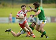 9 July 2016; Niall Toner of Derry in action against Mickey Burke of Meath during the GAA Football All-Ireland Senior Championship - Round 2A match between Derry and Meath at Derry GAA Centre of Excellence in Owenbeg, Derry. Photo by Oliver McVeigh/Sportsfile