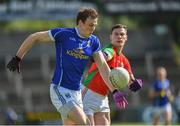 9 July 2016; Gearoid McKiernan of Cavan in action against John Murphy of Carlow during the GAA Football All-Ireland Senior Championship - Round 2A match between Cavan and Carlow at Kingspan Breffni Park in Cavan. Photo by Matt Browne/Sportsfile
