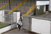 9 July 2016; Eoin O'Flaherty of Kildare arrives ahead of the GAA Football All-Ireland Senior Championship - Round 2B match between Kildare and Offaly at St Conleth's Park in Newbridge, Kildare.  Photo by Piaras Ó Mídheach/Sportsfile