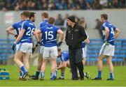 10 July 2016; Laois selector Anthony Cunningham speaks with players prior to the GAA Football All-Ireland Senior Championship - Round 2A match between Clare and Laois at Cusack Park in Ennis, Clare. Photo by Piaras Ó Mídheach/Sportsfile