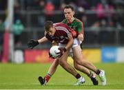 10 July 2016; Ryan Forde of Galway in action against John Maughan of Mayo during the Electric Ireland Connacht GAA Football Minor Championship Final between Galway and Mayo at Pearse Stadium in Galway. Photo by Paul Mohan/Sportsfile