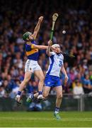 10 July 2016; Cathal Barrett of Tipperary in action against Shane Bennett of Waterford during the Munster GAA Hurling Senior Championship Final match between Tipperary and Waterford at the Gaelic Grounds in Limerick.  Photo by Stephen McCarthy/Sportsfile