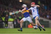 10 July 2016; Patrick Maher of Tipperary in action against Tadhg de Burca of Waterford during the Munster GAA Hurling Senior Championship Final match between Tipperary and Waterford at the Gaelic Grounds in Limerick.  Photo by Stephen McCarthy/Sportsfile