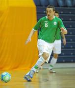 30 March 2010; Philip McDonagh, Republic of Ireland. International Futsal Friendly, Republic of Ireland v Norway, National Basketball Arena, Tallaght, Dublin. Picture credit: Paul Mohan / SPORTSFILE