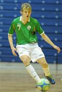 30 March 2010; Ian Byrne, Republic of Ireland. International Futsal Friendly, Republic of Ireland v Norway, National Basketball Arena, Tallaght, Dublin. Picture credit: Paul Mohan / SPORTSFILE