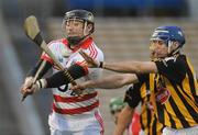 28 August 2010; Declan McCarthy, Cork, in action against Noel Doherty, Kilkenny. GAA Hurling All-Ireland Intermediate Championship Final, Cork v Kilkenny, Semple Stadium, Thurles, Co. Tipperary. Picture credit: Diarmuid Greene / SPORTSFILE