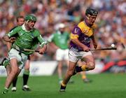 29 July 2001; Rory McCarthy, Wexford. Hurling. Picture credit; Aoife Rice / SPORTSFILE