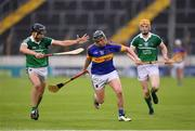 14 July 2016; Willie Connors of Tipperary in action against Colin Ryan of Limerick during the Bord Gáis Energy Munster U21 Hurling Championship Semi-Final match between Tipperary and Limerick at Semple Stadium in Thurles, Co Tipperary. Photo by Stephen McCarthy/Sportsfile