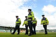 15 July 2016; A general view of An Garda Síochána walking the pitch before the SSE Airtricity League Premier Division match between Shamrock Rovers and Bohemian FC at Tallaght Stadium in Tallaght, Co Dublin. Photo by Eóin Noonan/Sportsfile