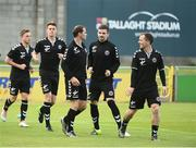 15 July 2016; A general view of Bohemian FC players before the start of the SSE Airtricity League Premier Division match between Shamrock Rovers and Bohemian FC at Tallaght Stadium in Tallaght, Co Dublin. Photo by David Maher/Sportsfile