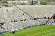 29 August 2010; A general view of an empty Hill 16 before the crowd arrive for the game. GAA Football All-Ireland Senior Championship Semi-Final, Kildare v Down, Croke Park, Dublin. Picture credit: Brendan Moran / SPORTSFILE
