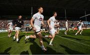 16 July 2016; Kildare players prior to the GAA Football All-Ireland Senior Championship Round 3B match between Mayo and Kildare at Elverys MacHale Park in Castlebar, Mayo. Photo by Stephen McCarthy/Sportsfile
