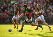 16 July 2016; Kevin McLoughlin of Mayo during the GAA Football All-Ireland Senior Championship Round 3B match between Mayo and Kildare at Elverys MacHale Park in Castlebar, Mayo. Photo by Stephen McCarthy/Sportsfile