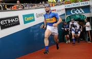 5 September 2010; Eoin Kelly leads the Tipperary team onto the pitch for the start of the game. GAA Hurling All-Ireland Senior Championship Final, Kilkenny v Tipperary, Croke Park, Dublin. Picture credit: David Maher / SPORTSFILE
