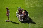 17 July 2016; Ray Connellan of Westmeath leaves the pitch injured during the Leinster GAA Football Senior Championship Final match between Dublin and Westmeath at Croke Park in Dubin. Photo by Daire Brennan/Sportsfile
