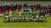 9 July 2016; The Meath squad before the GAA Football All-Ireland Senior Championship - Round 2A match between Derry and Meath at Derry GAA Centre of Excellence in Owenbeg, Derry. Photo by Oliver McVeigh/Sportsfile