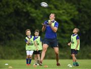 21 July 2016; Ross Molony of Leinster in action during the Bank of Ireland Leinster Rugby Summer Camp at Portlaoise RFC in Portlaoise, Co. Laois. Photo by Daire Brennan/Sportsfile