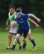 21 July 2016; Conor Ging, aged 11, from Mountmellick, Co. Laois, in action during the Bank of Ireland Leinster Rugby Summer Camp at Portlaoise RFC in Portlaoise, Co. Laois. Photo by Daire Brennan/Sportsfile