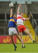 23 July 2016; Colm O'Shaughnessy of Tipperary in action against Enda Lynn of Derry during their GAA Football All-Ireland Senior Championship, Round 4A, game at Kingspan Breffni Park in Co Cavan. Photo by Oliver McVeigh/Sportsfile