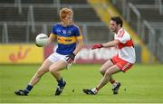 23 July 2016; Josh Keane of Tipperary in action against Oisin Duffy of Derry during the GAA Football All-Ireland Senior Championship, Round 4A, game at Kingspan Breffni Park in Co Cavan. Photo by Oliver McVeigh/Sportsfile