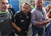 24 July 2016; Clare manager Davy Fitzgerald arrives before the GAA Hurling All-Ireland Senior Championship quarter final match between Clare and Galway at Semple Stadium in Thurles, Co Tipperary. Photo by Stephen McCarthy/Sportsfile