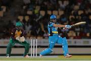 24 July 2016; Zouks batsman Shane Watson pulls for four during Match 23 of the Hero Caribbean Premier League match between St Lucia Zouks and Guyana Amazon Warriors at the Daren Sammy Cricket Stadium in Gros Islet, St Lucia. Photo by Ashley Allen/Sportsfile