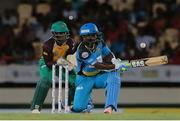 24 July 2016; Zouks batsman Johnson Charles sweeps for four  during Match 23 of the Hero Caribbean Premier League match between St Lucia Zouks and Guyana Amazon Warriors at the Daren Sammy Cricket Stadium in Gros Islet, St Lucia. Photo by Ashley Allen/Sportsfile