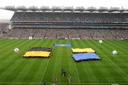 5 September 2010; A general view of the Arcana pre-match entertainment before the game. GAA Hurling All-Ireland Senior Championship Final, Kilkenny v Tipperary, Croke Park, Dublin. Picture credit: Brendan Moran / SPORTSFILE