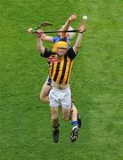 5 September 2010; James 'Cha' Fitzpatrick, Kilkenny, contests a high ball with Brendan Maher, Tipperary. GAA Hurling All-Ireland Senior Championship Final, Kilkenny v Tipperary, Croke Park, Dublin. Picture credit: Brendan Moran / SPORTSFILE