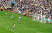 5 September 2010; Richie Power, Kilkenny, scores his side's only goal of the game. GAA Hurling All-Ireland Senior Championship Final, Kilkenny v Tipperary, Croke Park, Dublin. Picture credit: Brendan Moran / SPORTSFILE