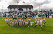 9 July 2016; The Offaly squad break away from the team photograph prior to the GAA Football All-Ireland Senior Championship - Round 2B match between Kildare and Offaly at St Conleth's Park in Newbridge, Kildare.  Photo by Piaras Ó Mídheach/Sportsfile
